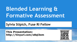 Blended Formative Assessment